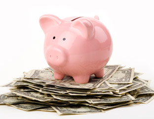 Increase your piggy bank savings